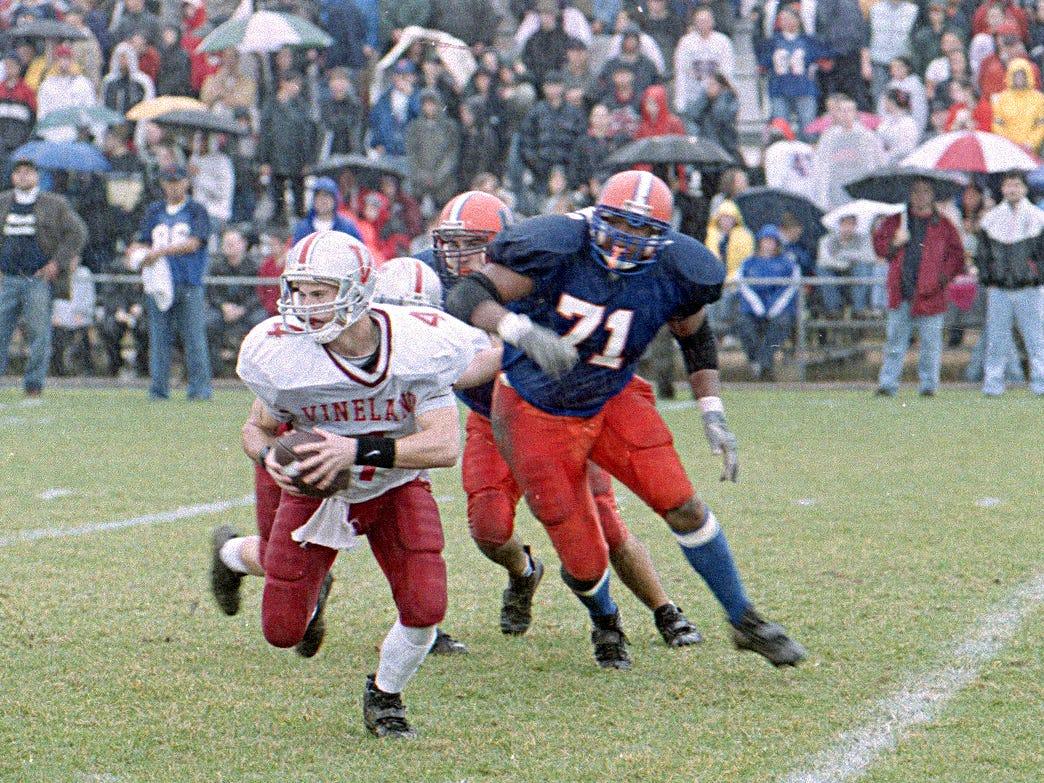 Football: Vineland vs. Millville in 1999