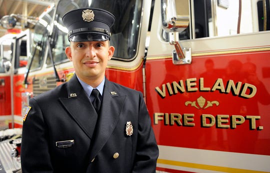 Joseph M. Wheeler is one of the latest career firefighters to join the team at the City of Vineland Fire Company #6 at Fourth and Wood streets.