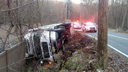 Ramapo rollover crash
