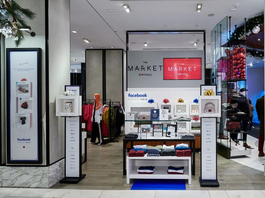 Macy's Herald Square and Facebook have teamed up to launch a series of unique pop-up shops that will operate through the holidays.