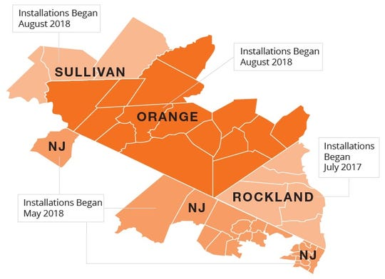Orange & Rockland Utilities' smart-meter roll-out plan