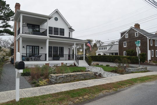 The McCarthys built this new home on Pilottown Road in Lewes after careful consideration of the risks. Even though they are technically out of the floodplain, they decided to elevate and insure the home regardless.