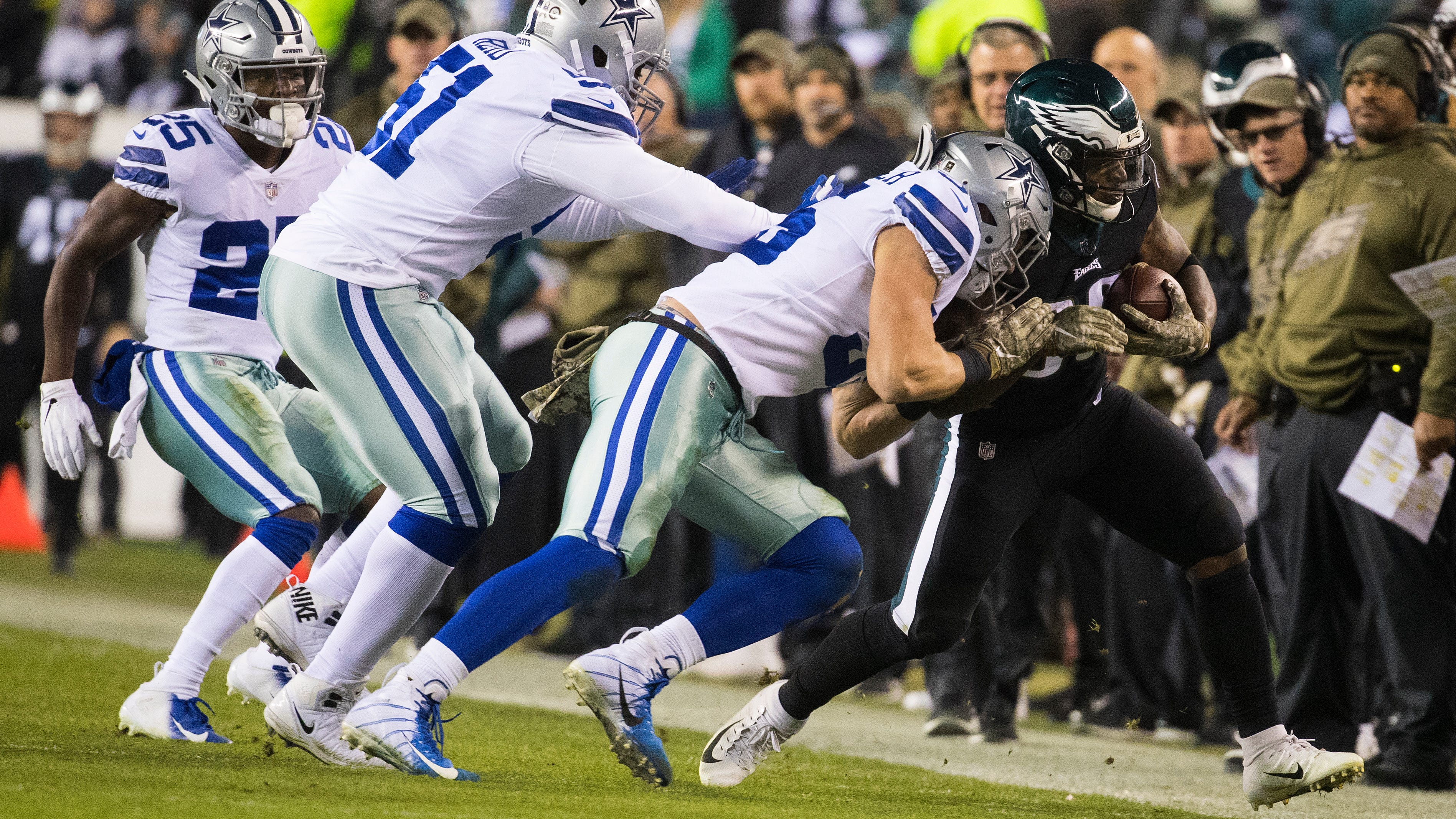 Brutal schedule ahead, Eagles' mediocre play demanded victory in NFC East showdown with rival Dallas