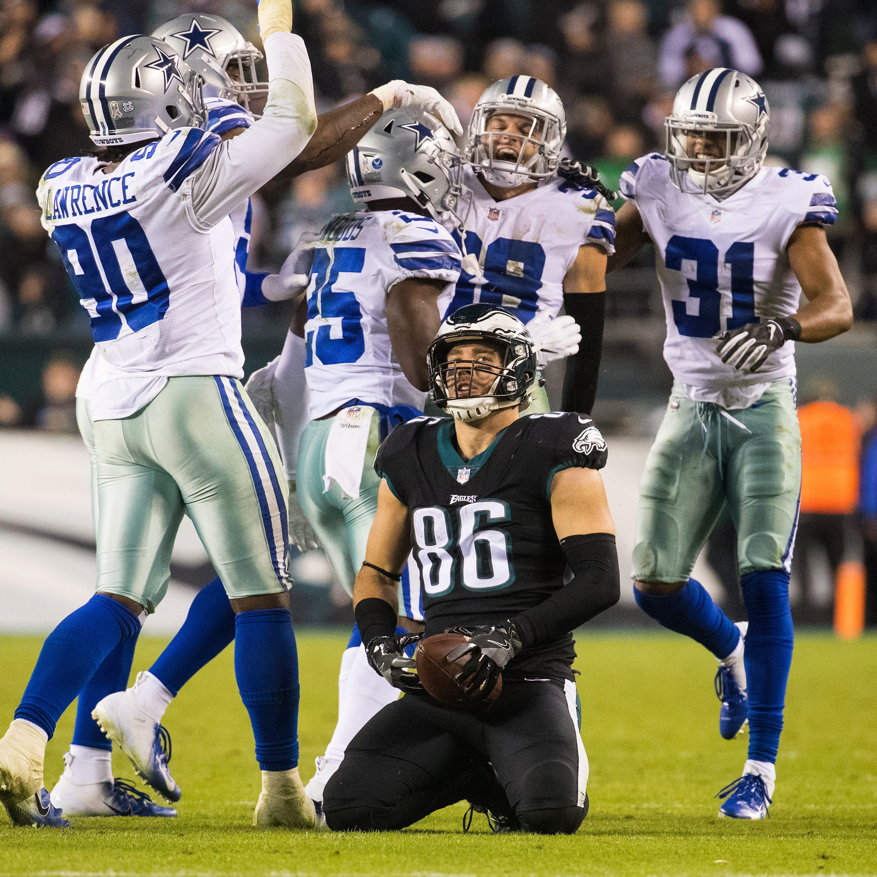 Eagles' season falling apart after loss to Cowboys; 'This one hurt'