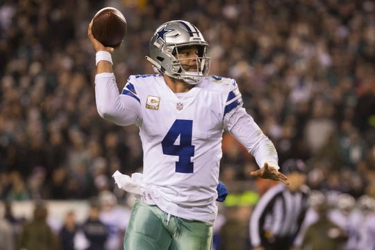 Cowboys quarterback Dak Prescott has helped Dallas to a 7-5 record this season, good for first place in the NFC East.