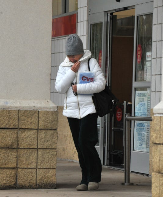 Cold Weather Comes To Wichita Falls