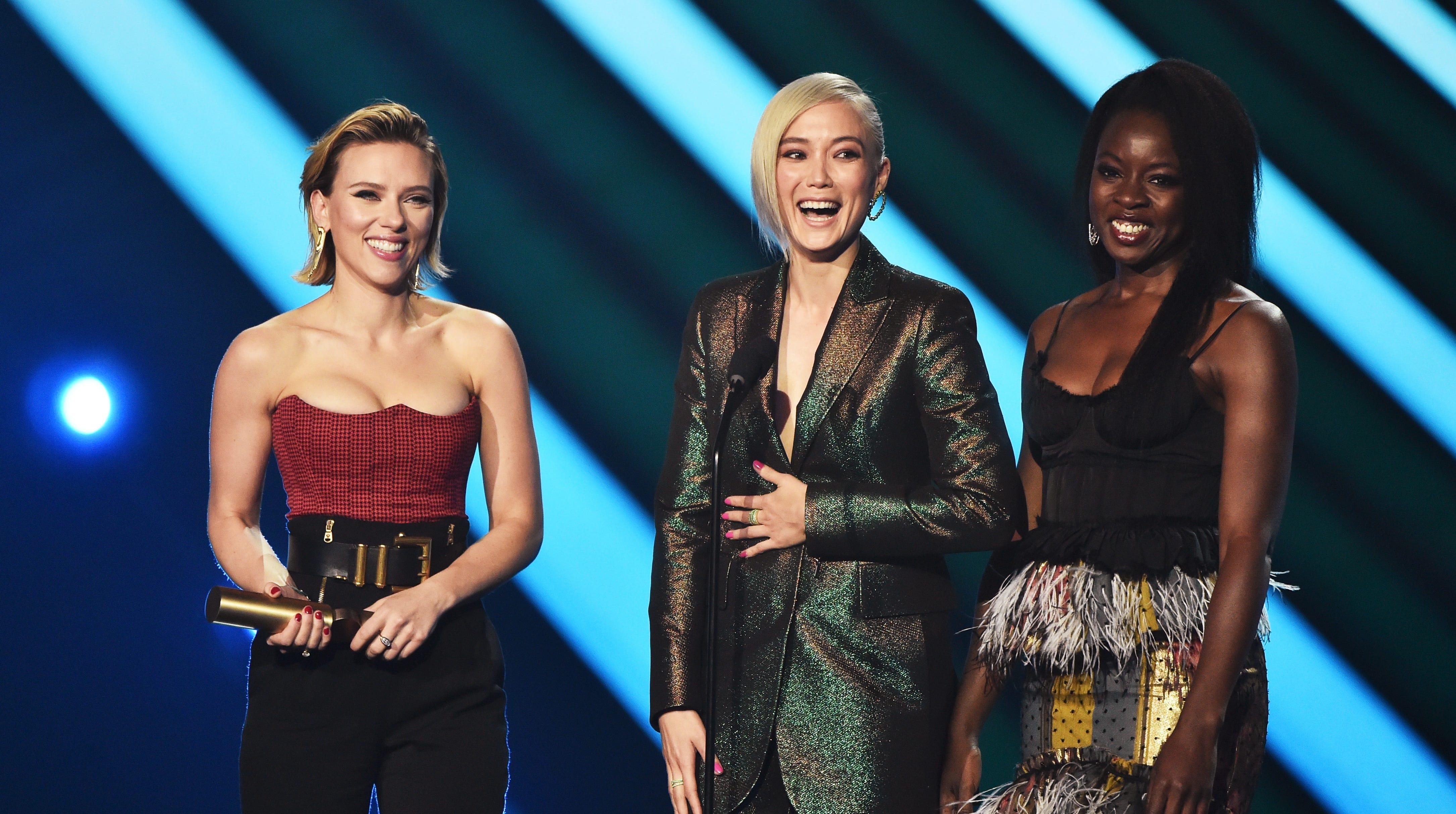 Resultado de imagen para people's choice awards 2018 avengers