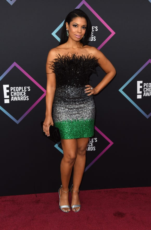 Susan Kelechi Watson attends the People's Choice Awards 2018 on Nov. 11, 2018 in Santa Monica, Calif.