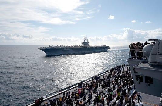 Epa South Korea Defense International Fleet Review Pol Defence Kor