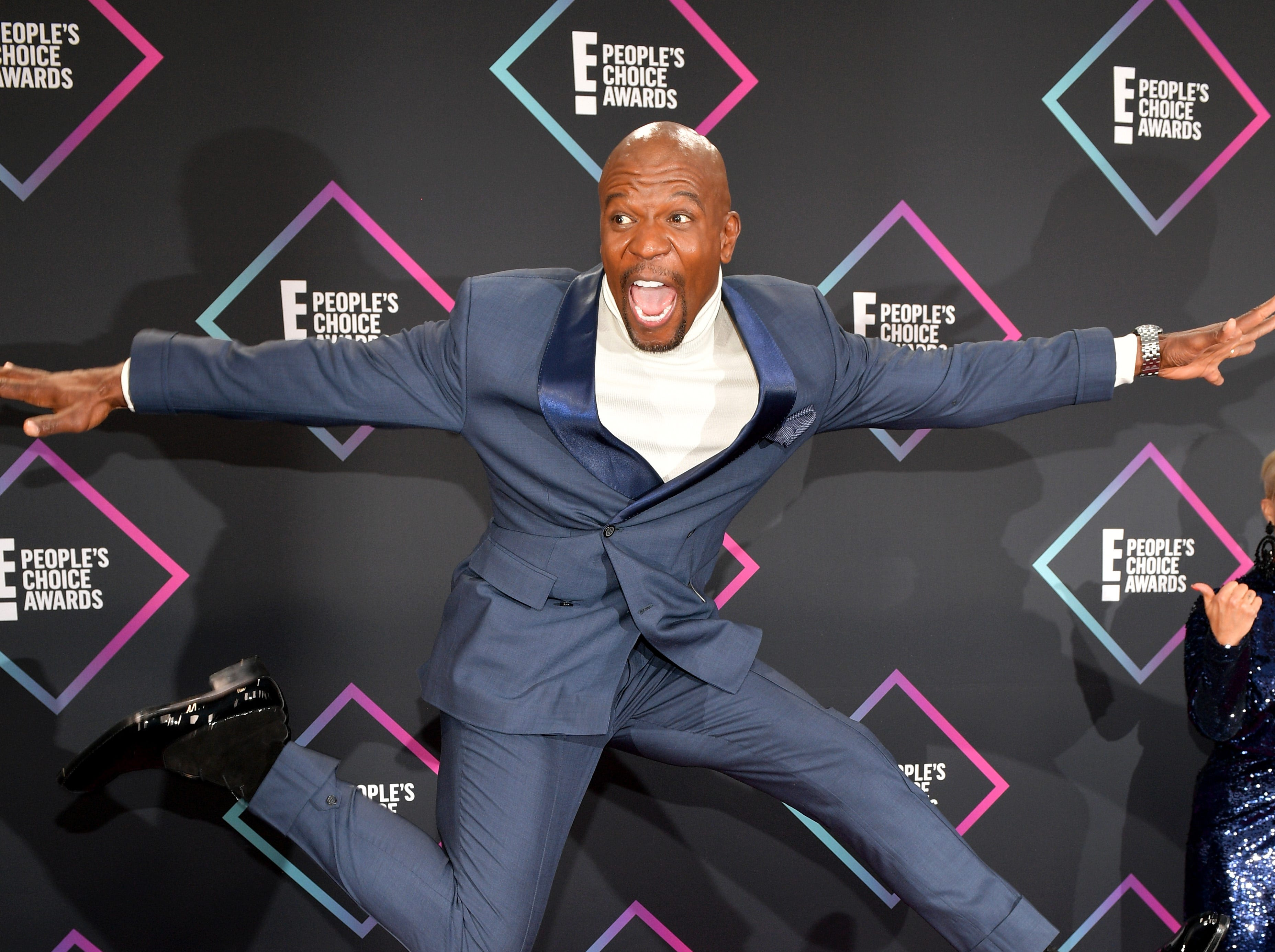 SANTA MONICA, CA - NOVEMBER 11:  Terry Crews attends the People's Choice Awards 2018 at Barker Hangar on November 11, 2018 in Santa Monica, California.  (Photo by Matt Winkelmeyer/Getty Images) ORG XMIT: 775237965 ORIG FILE ID: 1060371660
