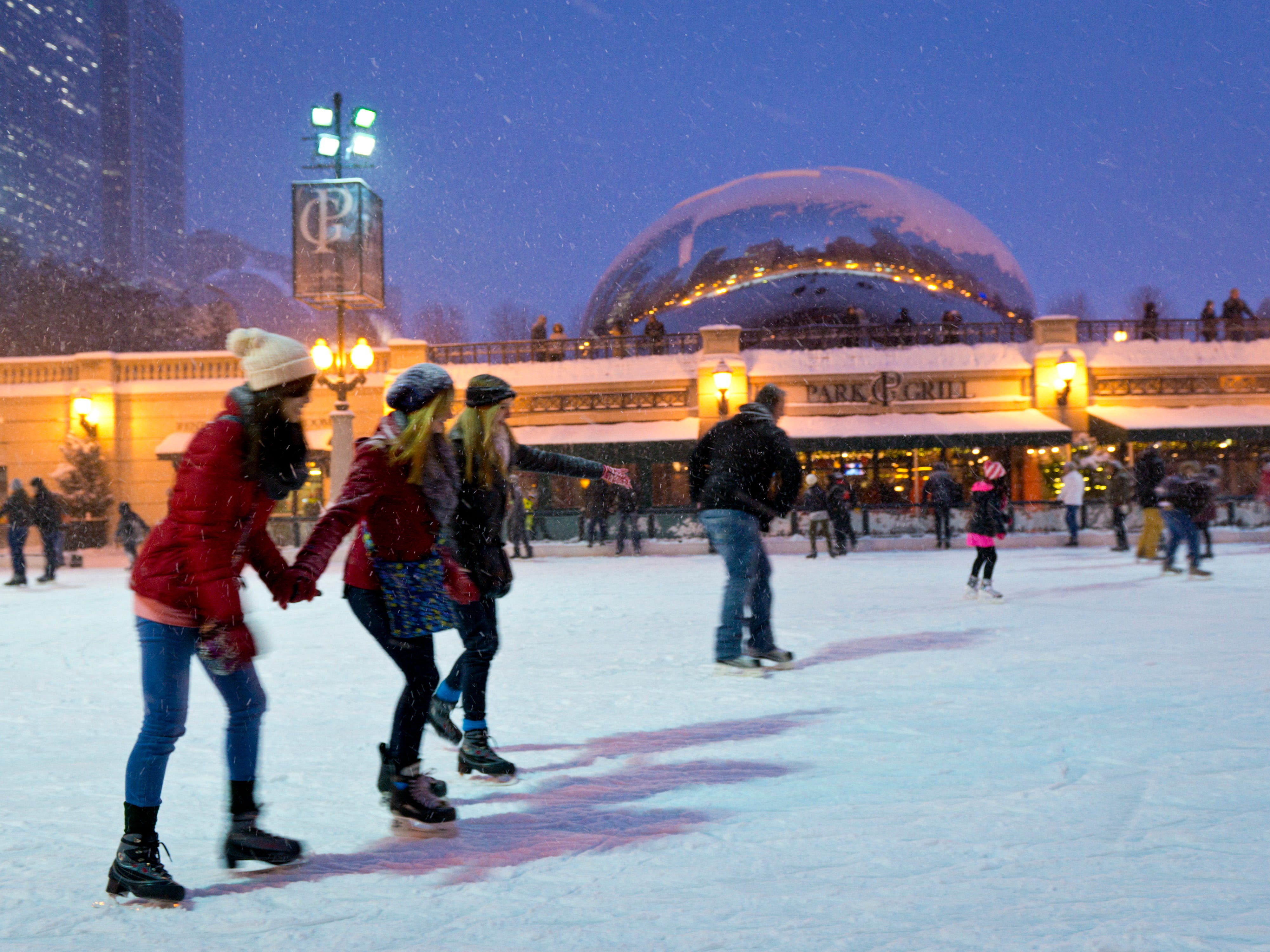 If you're looking for a cold getaway, head to Chicago. It's2018's best winter holiday vacation destination for cold-weather lovers, according to aWalletHubstudy.Experts compared130 of the most populated U.S. metropolitan areas againstsix different factors to determine the ranking: travel costs and hassles, cost in destinations, attractions, weather, safety and activities. One of the Chicago activities is skating at the free McCormick Tribune Ice Rink. Check out the rest of the top 32 winter vacation destinations.
