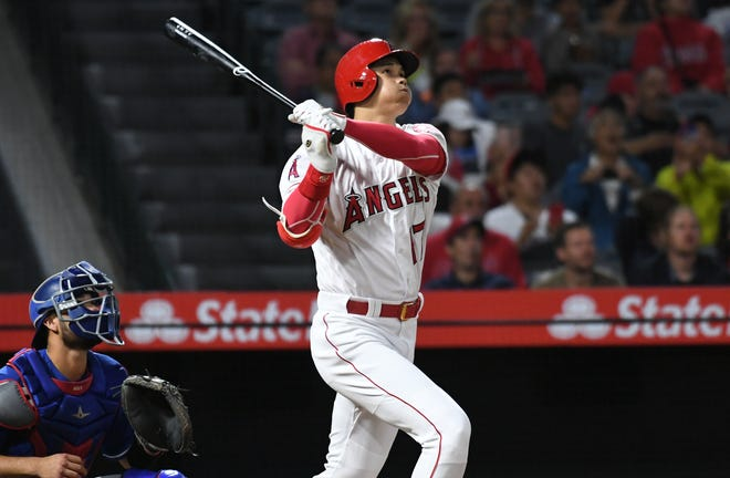 Shohei Ohtani hit 22 home runs as a rookie in 2018.