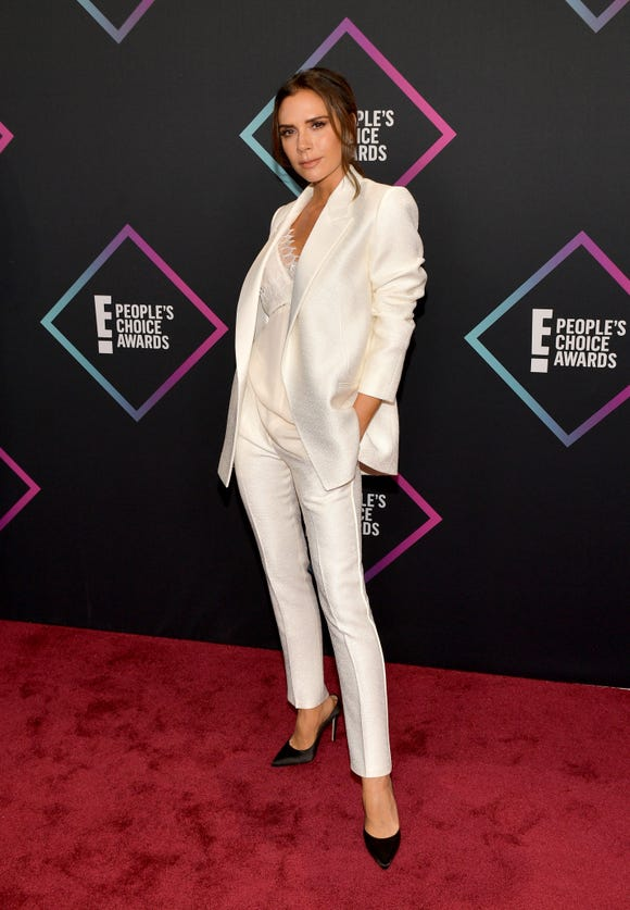 Victoria Beckham attends the People's Choice Awards 2018 on Nov. 11, 2018 in Santa Monica, Calif.