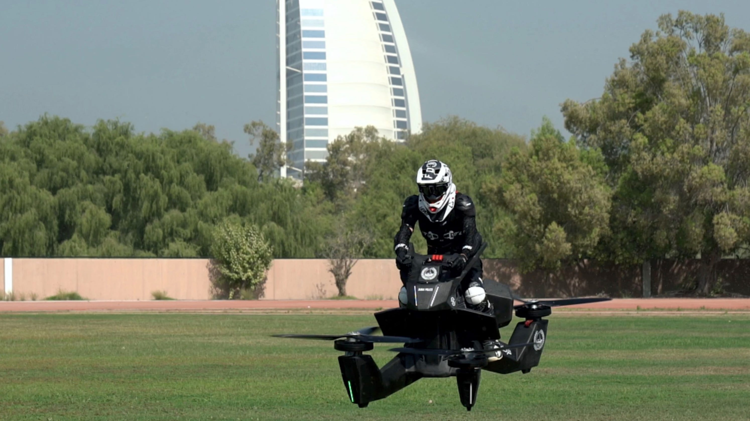 Hoverbikes Tested By Dubai Police For Deployment
