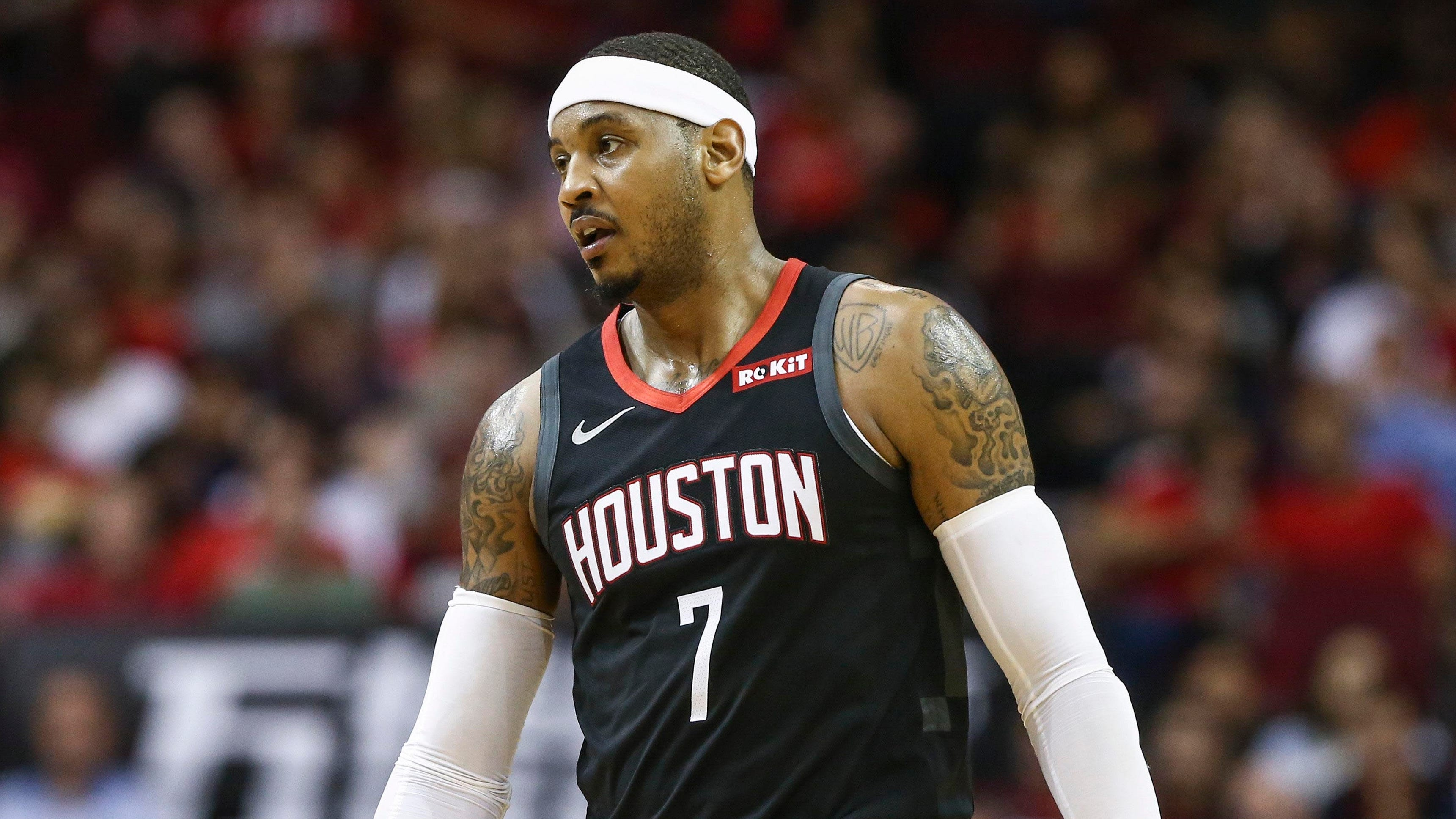 Rockets will part ways with Carmelo Anthony after just 10 appearances