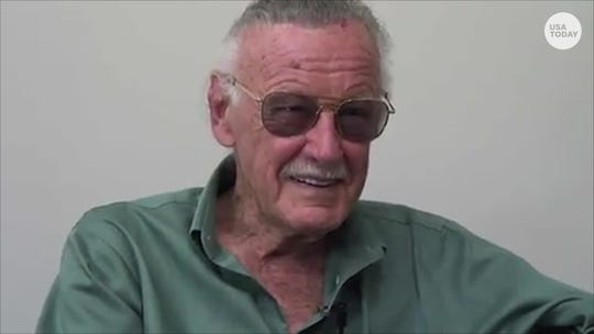 Stan Lee talked about superheroes and everyday heroes with USA TODAY.
