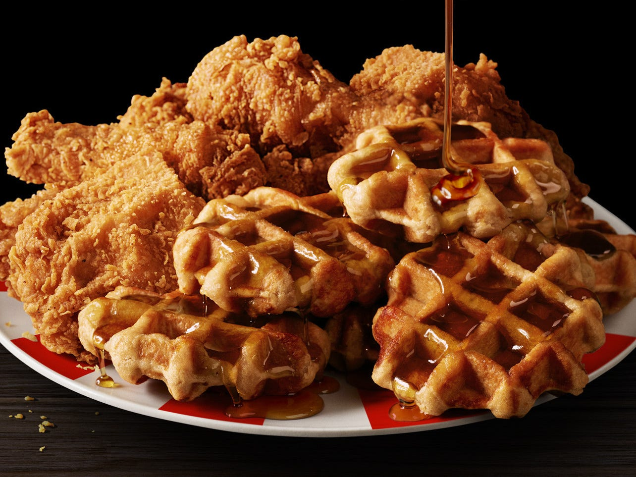 Chicken and waffles arrive at KFC nationwide through Dec. 31