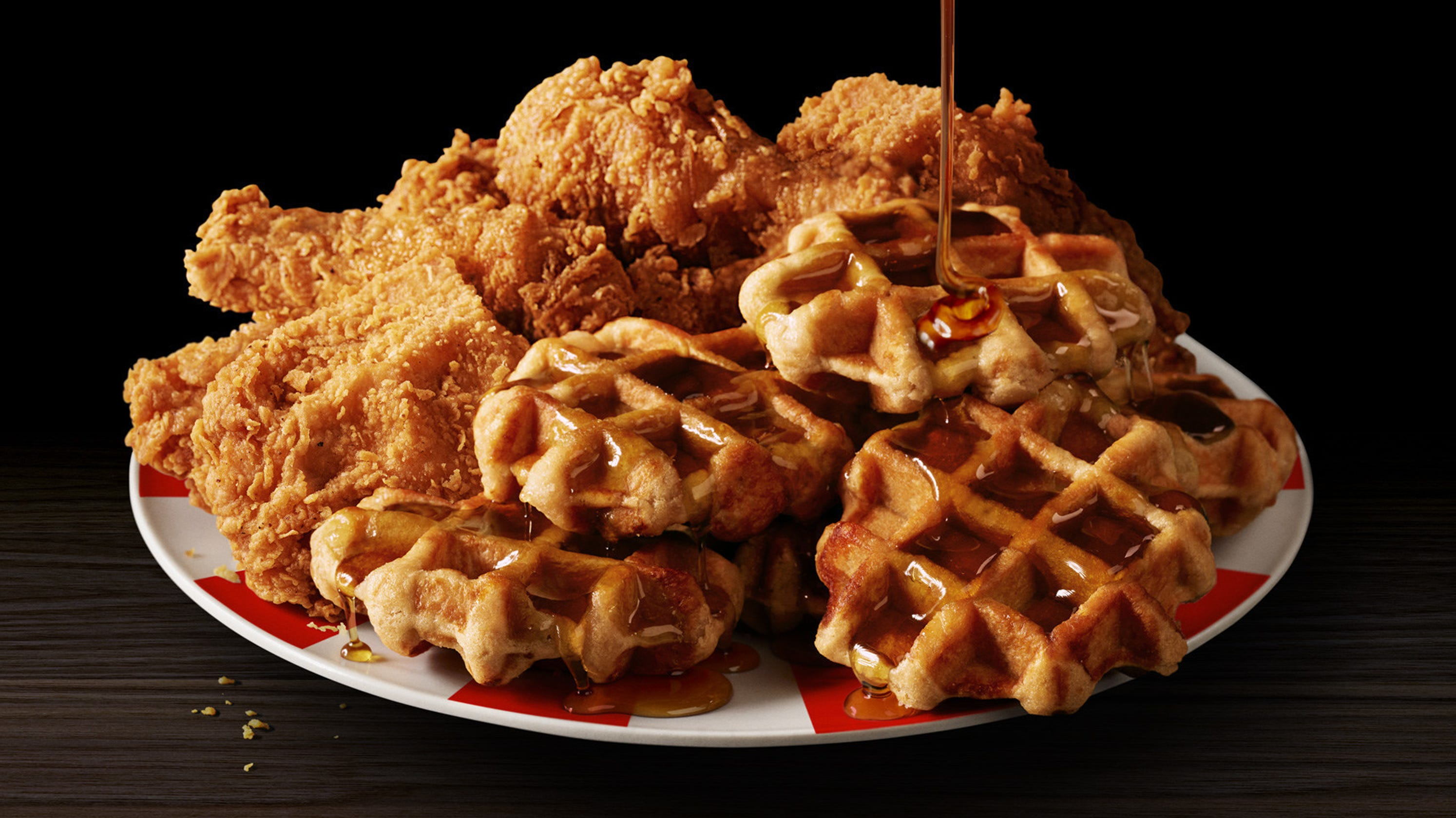 Kfc Chicken And Waffles Is Added To Menu For A Limited Time