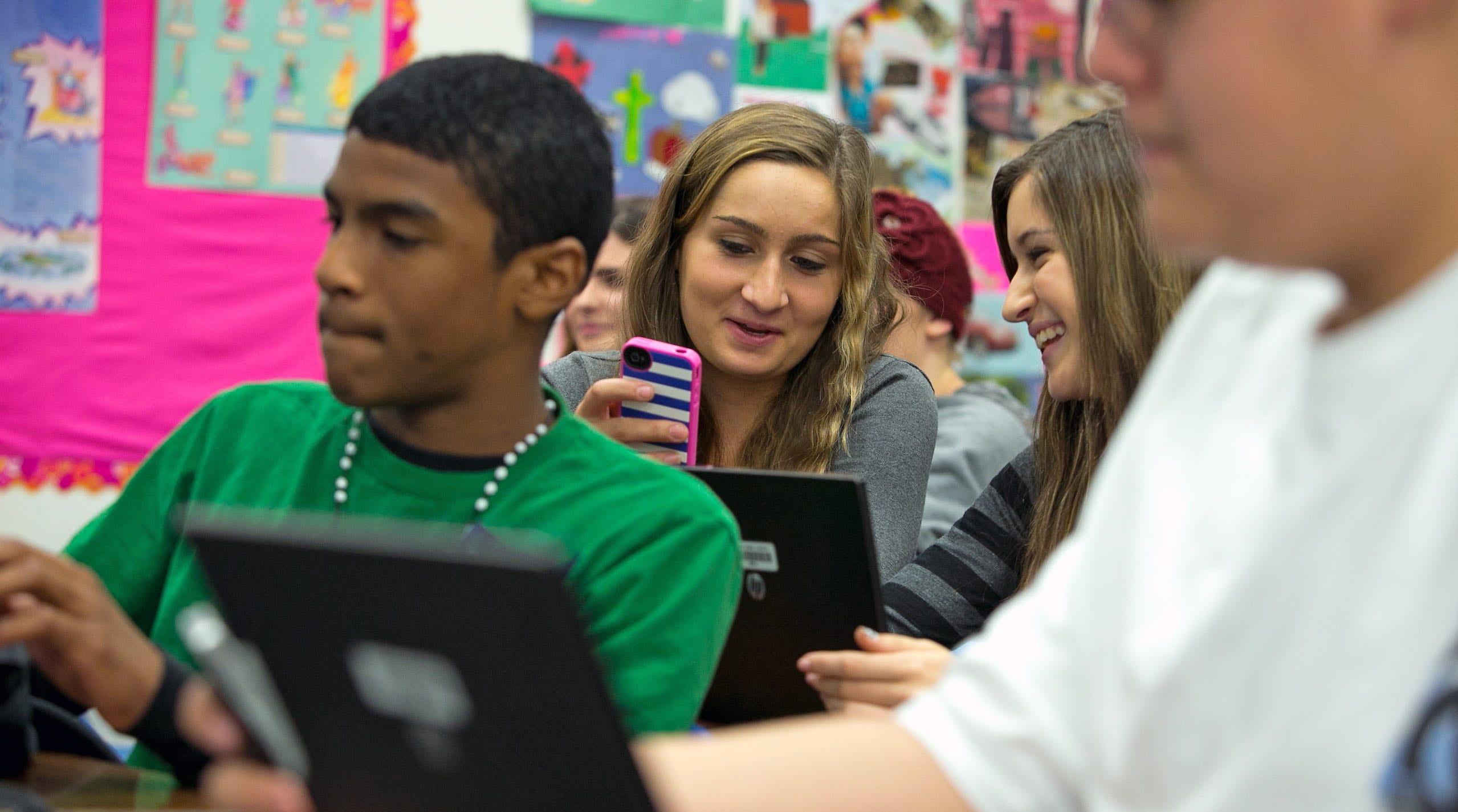 At Willis Junior High school in Chandler, Ariz. on Dec. 19, 2012.
