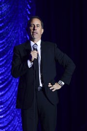 Comedian Jerry Seinfeld opens a new stand-up residency at Manhattan's Beacon Theatre Jan. 11.