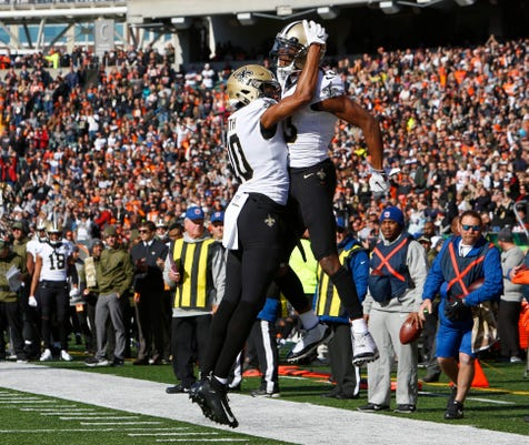 Nfl New Orleans Saints At Cincinnati Bengals