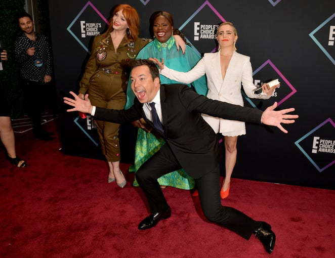 The People's Choice Awards 2018 red carpet