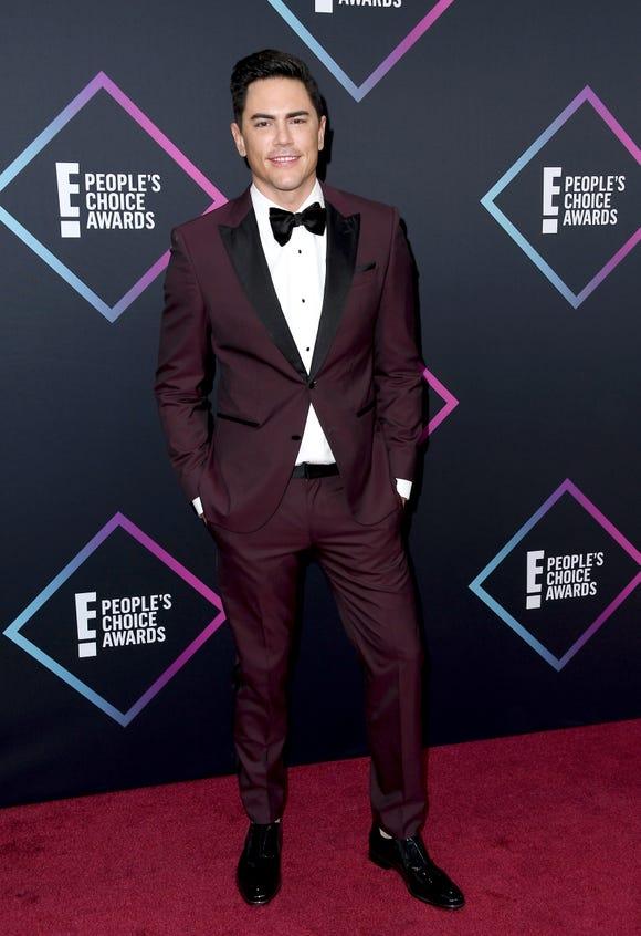 Tom Sandoval attends the People's Choice Awards 2018 on Nov. 11, 2018 in Santa Monica, Calif.