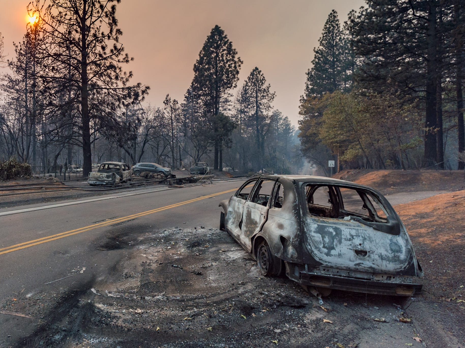 The Camp Fire swept through Paradise, California, destroying more than 6,500 structures.
