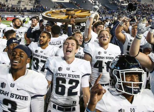 Usp Ncaa Football Utah State At Brigham Young S Fbc Byu Uta Usa Ut