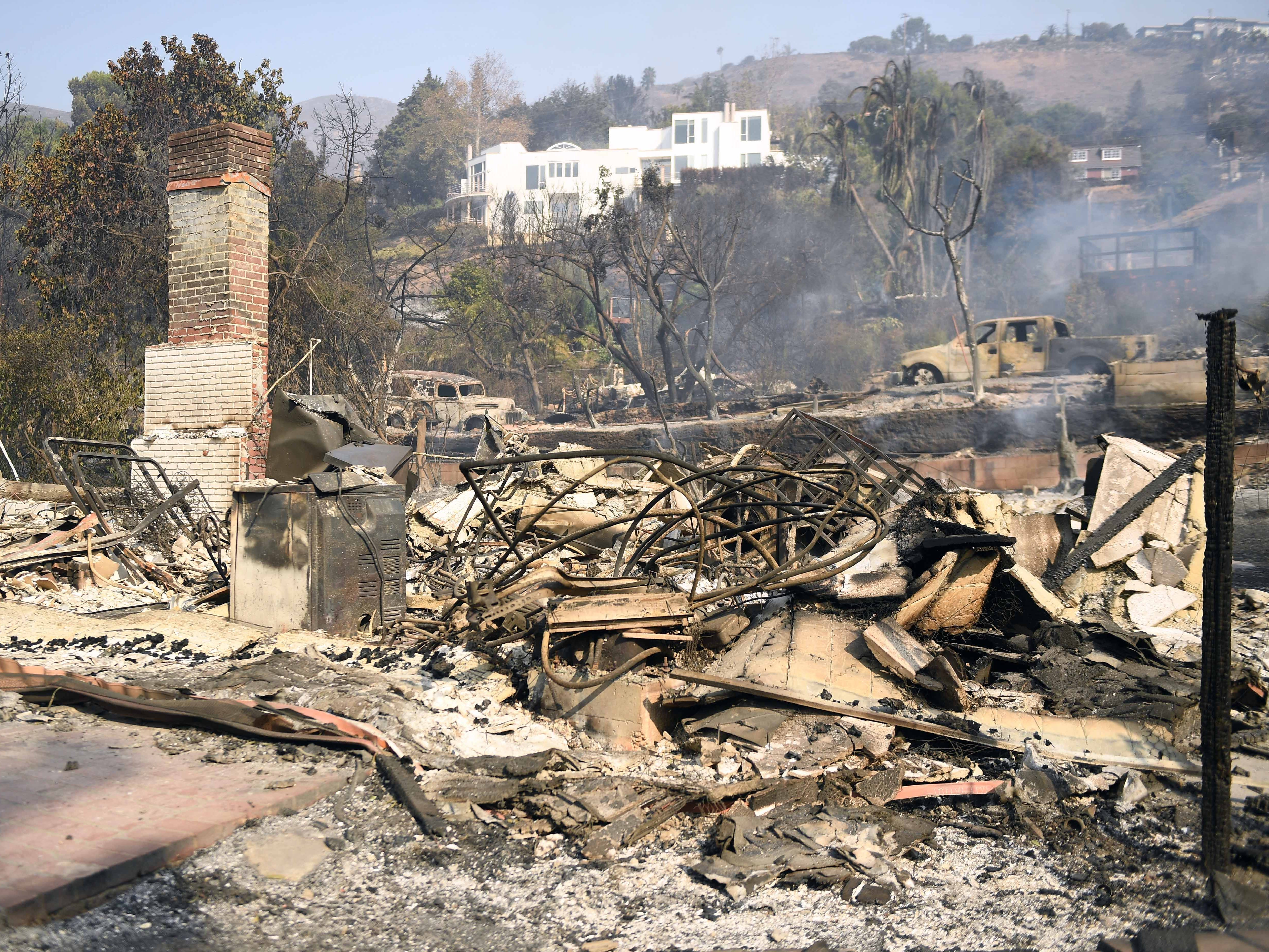 California's fire dilemma: Rebuild knowing same homes will burn again?