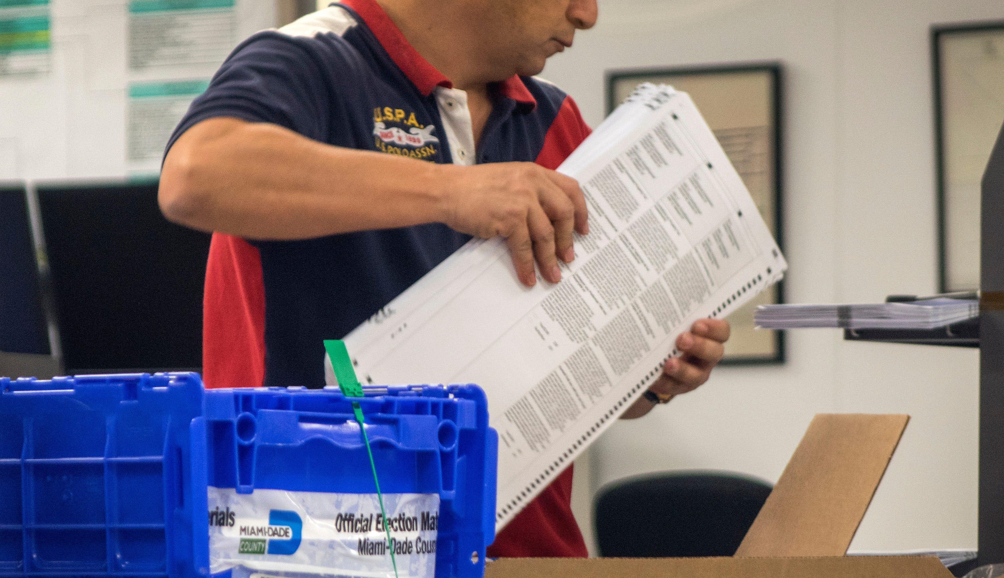 Epa Usa 2018 Midterm Elections Vote Recount Pol Elections Usa Fl