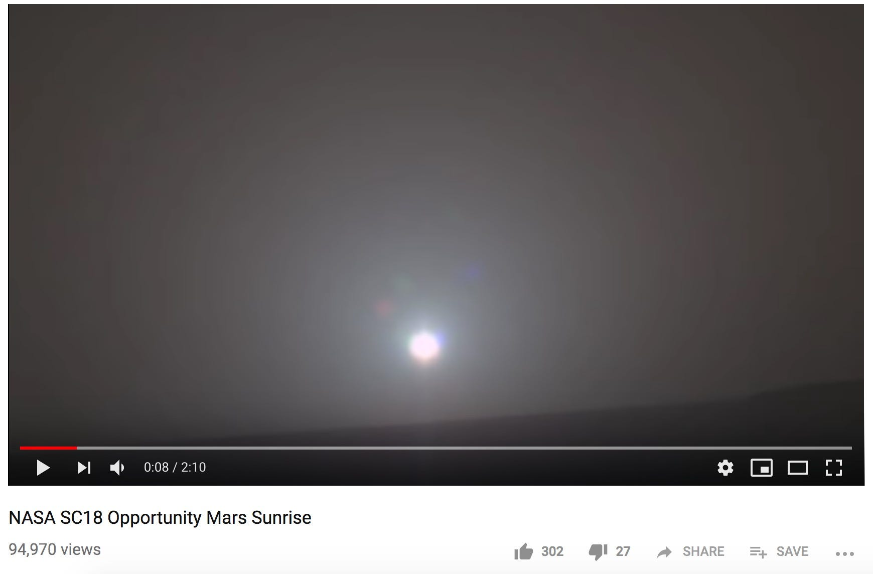 Scientists turned a Mars sunrise photo into music using data from NASA's Opportunity rover, and it's beautiful | AZ Central