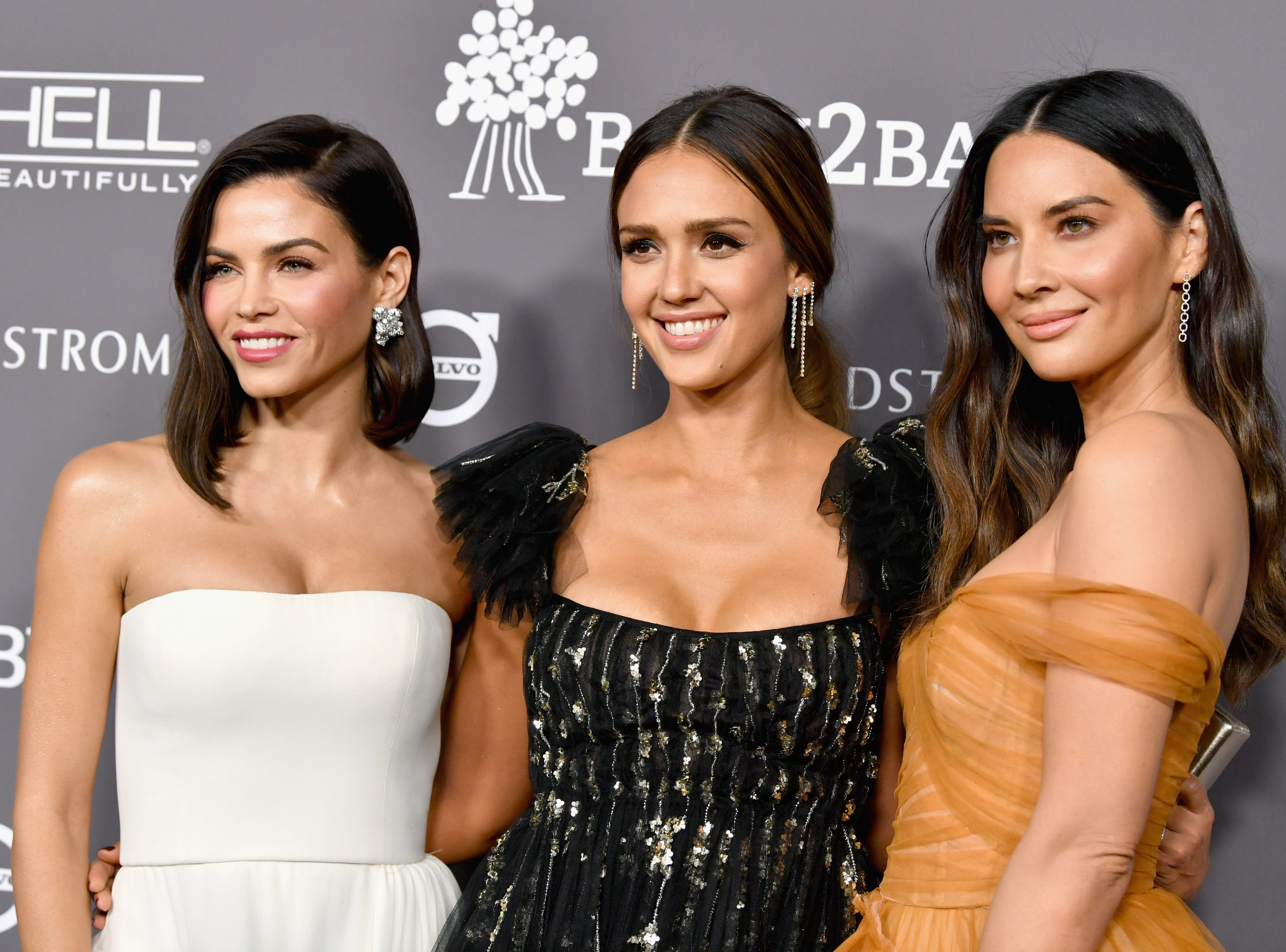 CULVER CITY, CA - NOVEMBER 10:  (L-R) Jenna Dewan, Jessica Alba, and Olivia Munn attend the 2018 Baby2Baby Gala Presented by Paul Mitchell at 3LABS on November 10, 2018 in Culver City, California.  (Photo by Emma McIntyre/Getty Images) ORG XMIT: 775238508 ORIG FILE ID: 1060105178