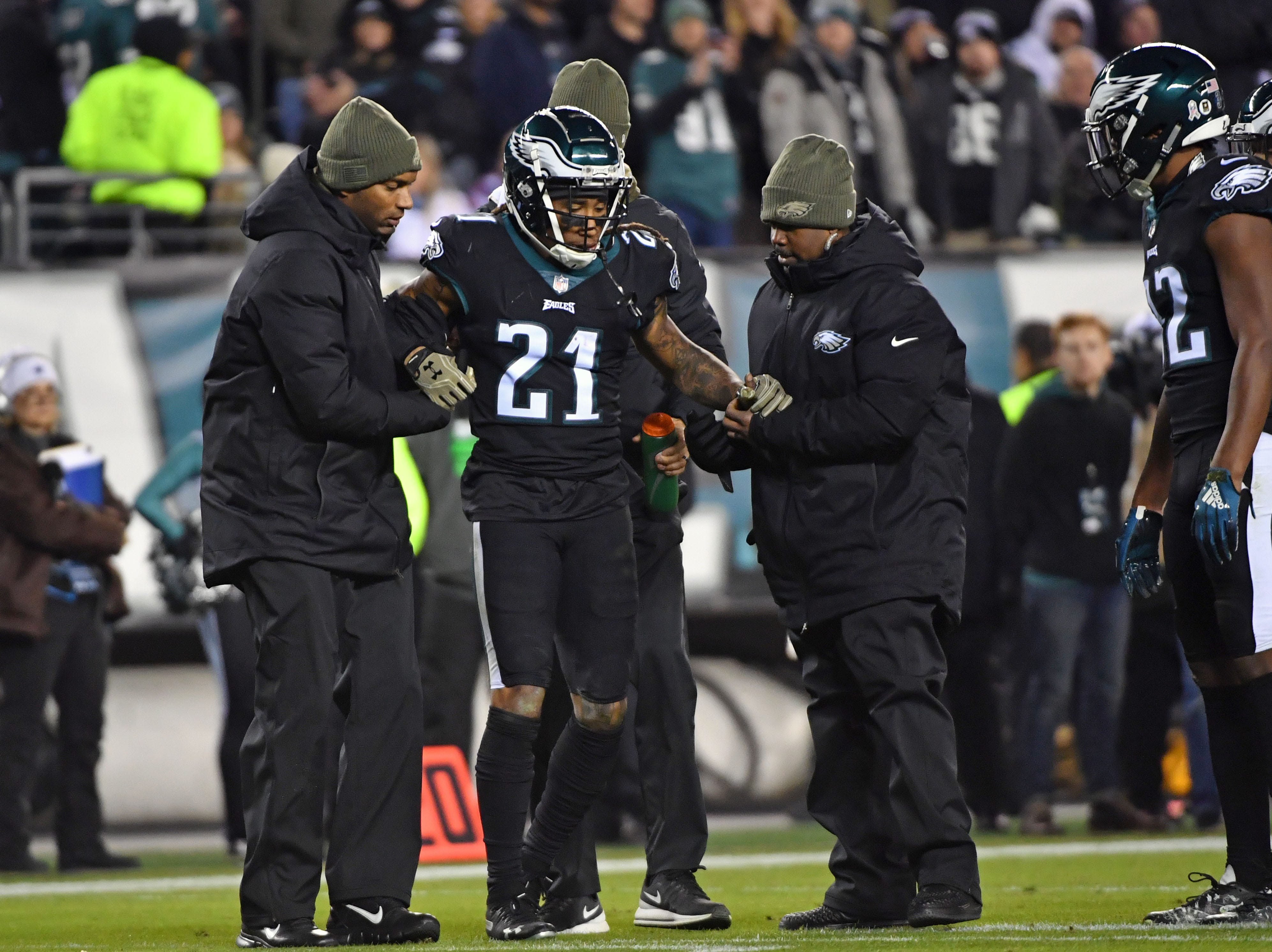 Ronald Darby, CB, Philadelphia Eagles (torn ACL, out for season)