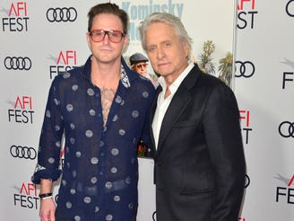 'My career came before my family': Michael Douglas blamed himself for son Cameron's addiction