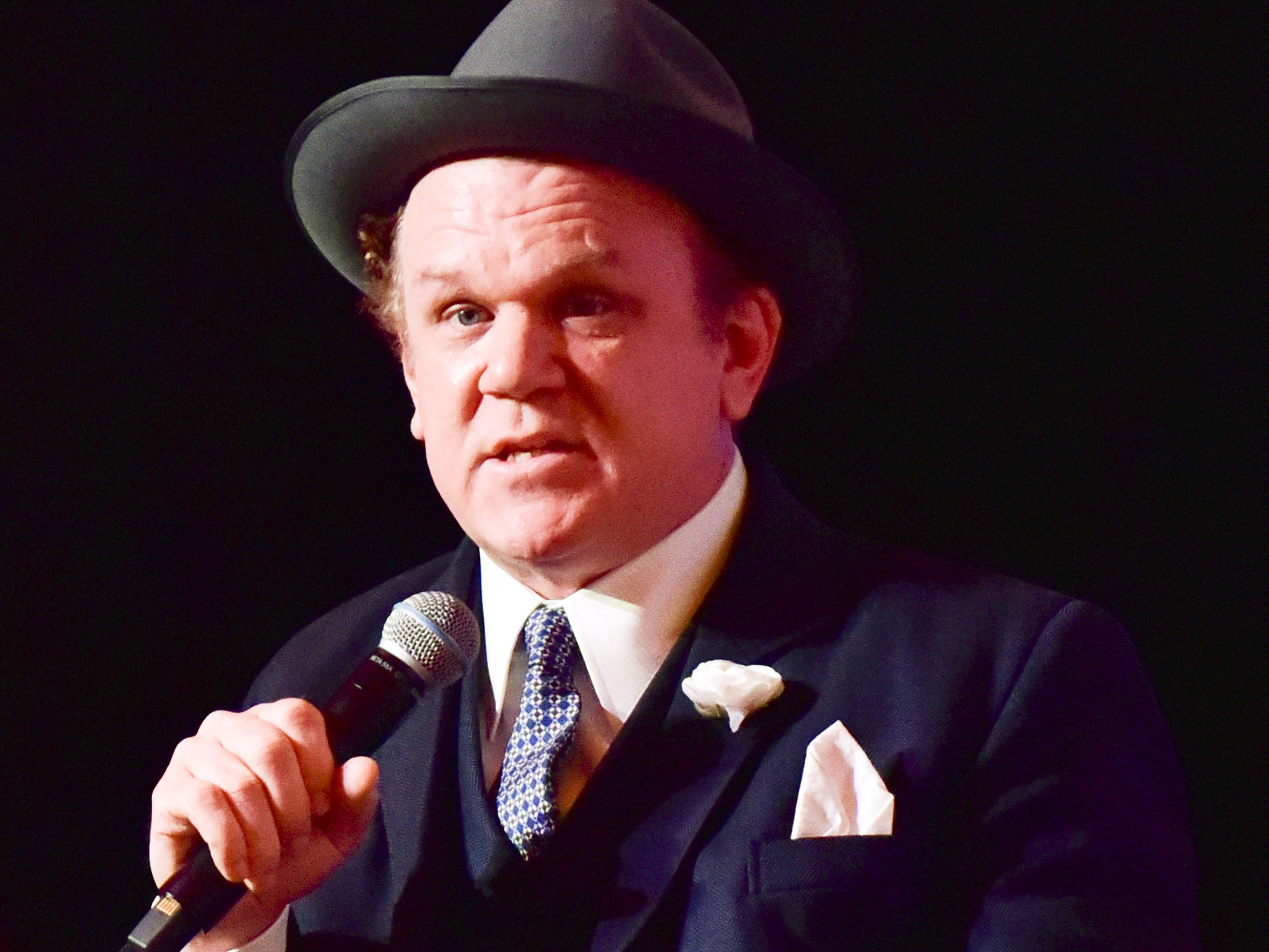 LOS ANGELES, CALIFORNIA - NOVEMBER 11: John C. Reilly speaks onstage at AFI FEST 2018 Presented by Audi - Indie Contenders at The Hollywood Roosevelt Hotel on November 11, 2018 in Los Angeles, California. (Photo by Rodin Eckenroth/Getty Images for AFI) ORG XMIT: 775252718 ORIG FILE ID: 1066342788