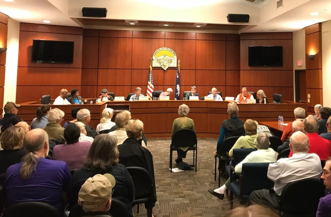 Eight candidates participated in a forum for Clemson City Council on Oct. 29.