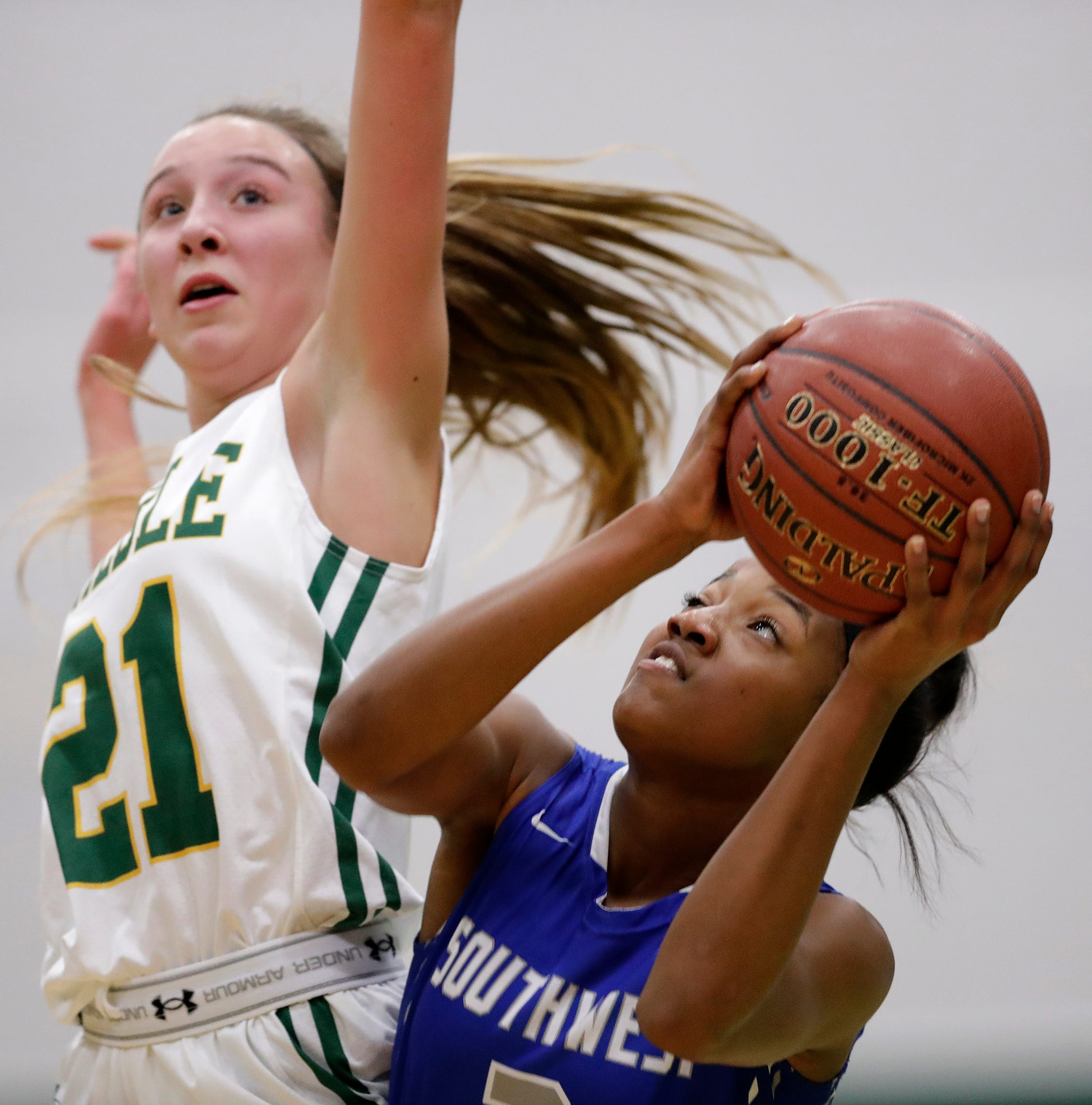 High school girls basketball: Jaddan Simmons leads list of top players