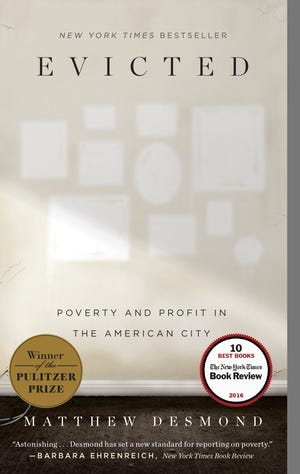 """Evicted: Poverty and Profit in the American City"" is the 2019 Fox Cities Reads selection."