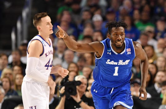 Ncaa Basketball Ncaa Tournament Second Round Kansas Vs Seton Hall