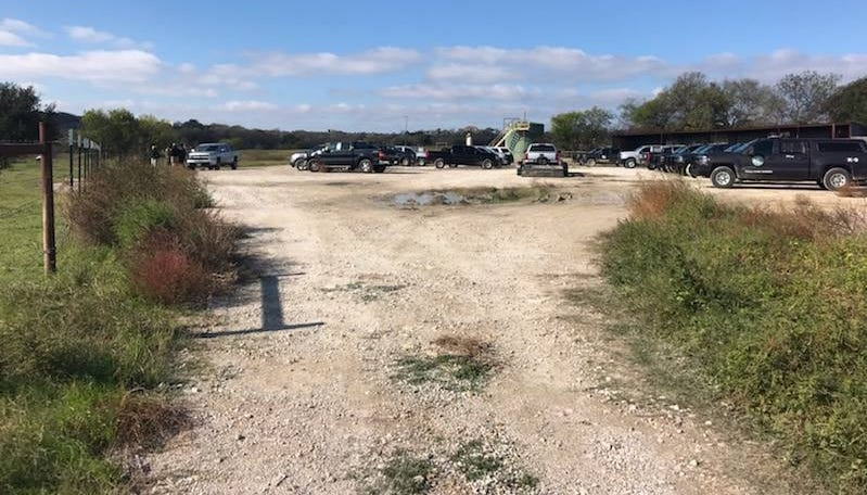 A Parker County Sheriff's Office deputy was shot Monday, Nov. 12, 2018, while checking on an illegal deer blind on private property.
