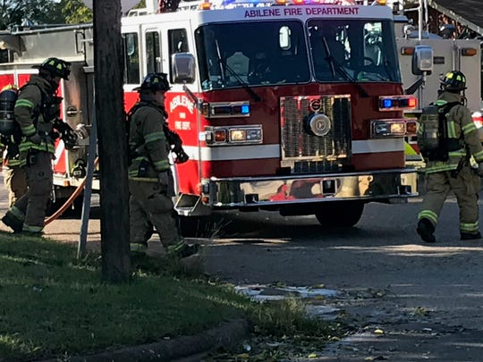 The Abilene Fire Department responded to a fire at a residence in the 1700 block of Glenhaven Drive on Tuesday, Nov. 13, 2018.