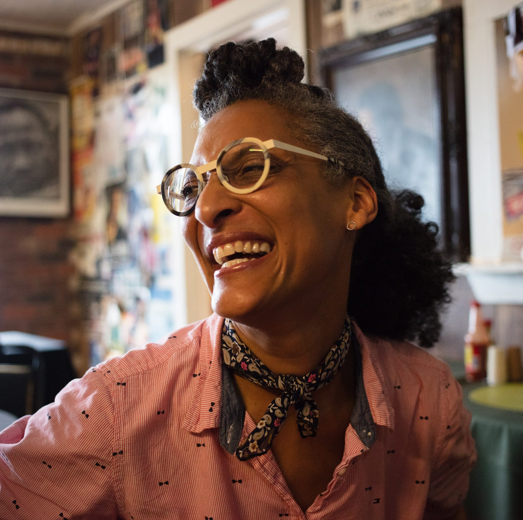 Chef Carla Hall will pack the house at Malaprop's
