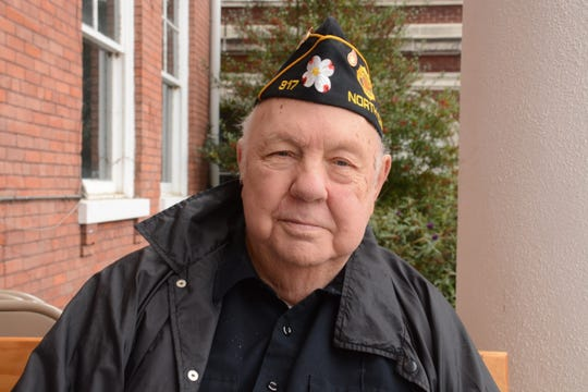 """James Warren Ponder, who served at Pearl Harbor, said, """"I'm thankful to be here."""""""