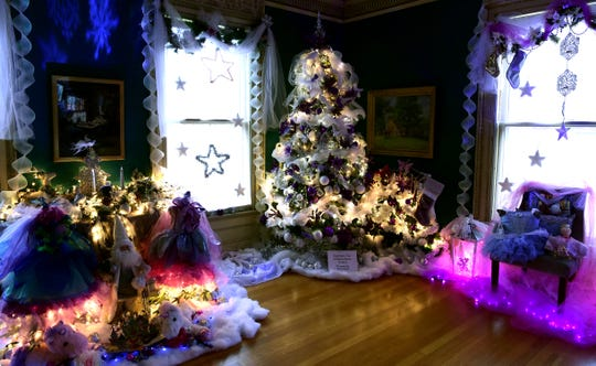 Roberson Museum and Science Center's annual Home for the Holidays event continues through Jan. 5. The event features hundreds of elaborately decorated holiday trees and displays.