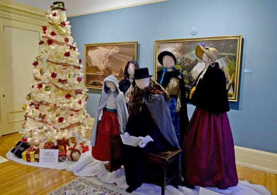 The Roberson Museum and Science Center's annual Home for the Holidays event opens on Nov. 14 and continues through Jan. 6. The event features hundreds of elaborately decorated holiday trees and displays.