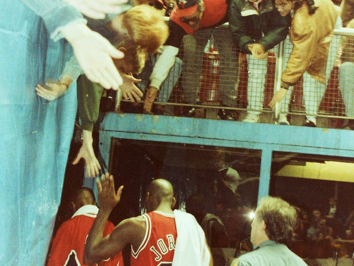 11/20/92Sonic's vs Bulls