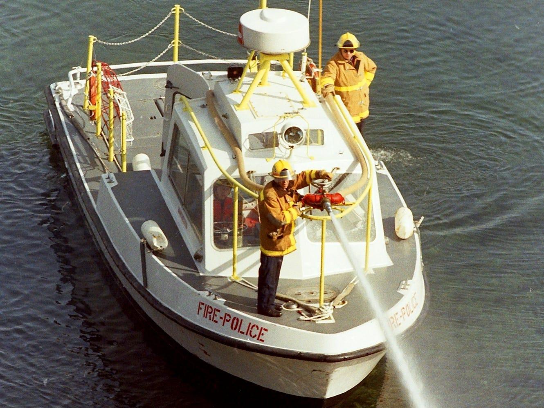 08/30/92Fire Boat
