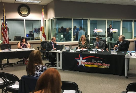 Brevard County ballot recount begins