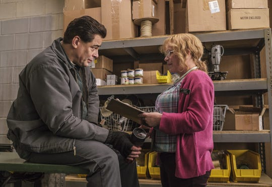 "Benicio Del Toro and Patricia Arquette star in the Showtime series ""Escape at Dannemora."""